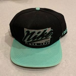 Nike Black and Mint Green SnapBack Hat